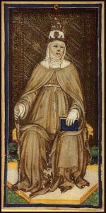 Bonifacio Bembo: carta della Papessa Giovanna (1450)